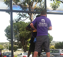 Orange County glass restoration services by Stanley Window Care