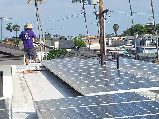 orange county solar panel cleaning, get the most out of your solar panels