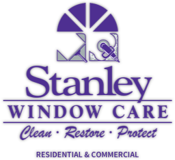 Stanley Window Care logo, Orange County window cleaning experts
