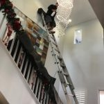 We work hard to make sure your chandeliers are clean and sparkle