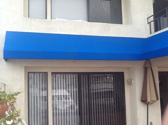 Orange County awning cleaning after picture, all dirt removed