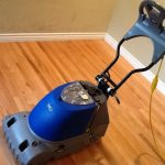 This monster cleans hardwood floors, this helps not only clean but polish and restore your wood floors as well