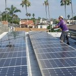 Cleaning solar panels makes them more efficient