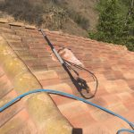 Roof cleaning in Orange County, CA. Remove dirt and debris from your roof